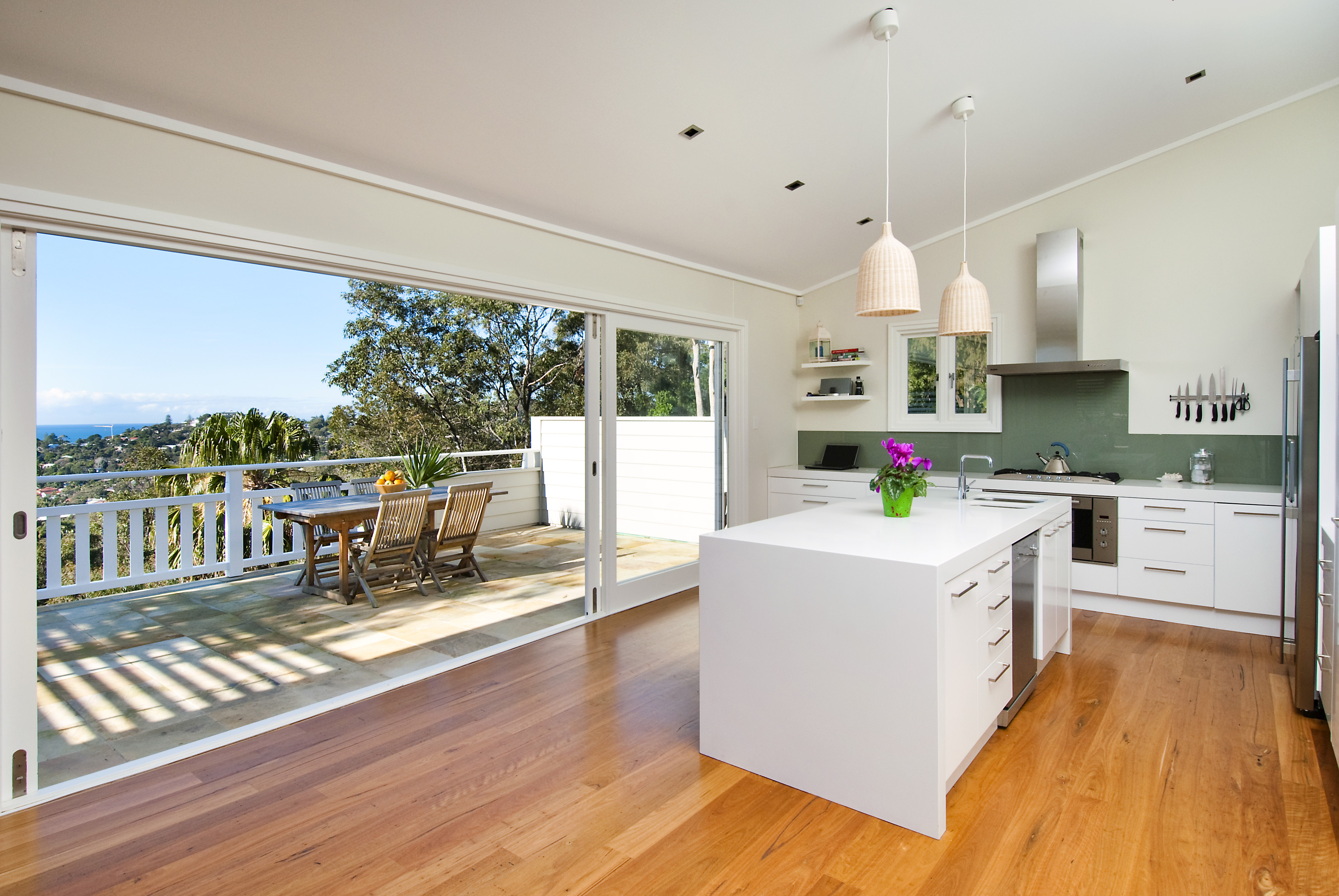 New home newton built projects for Balcony kitchen